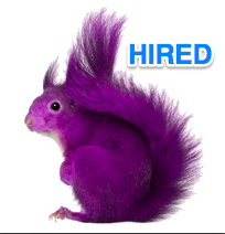 recruiting a purple squirrel