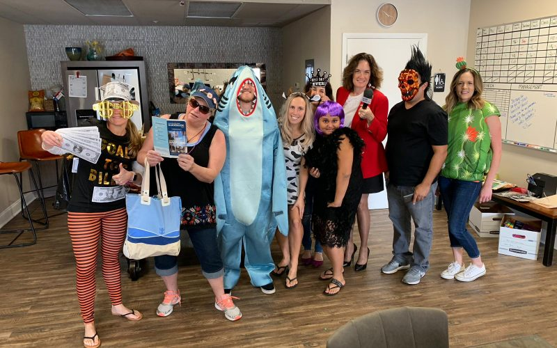 Tampa Bay Business Journal Posts MedBest Pic & Other Area Companies Celebrating Halloween
